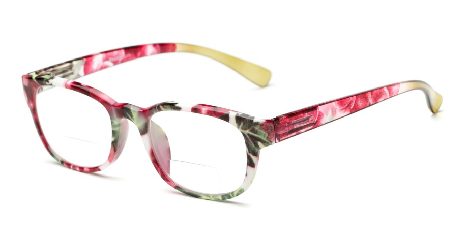 fa02426d36 Women s Floral Bifocal Reading Glasses
