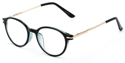 Angle of The Dorian in Blue, Women's and Men's Round Reading Glasses