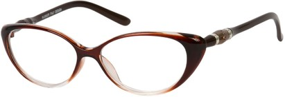 Angle of The Marissa in Brown Fade, Women's and Men's