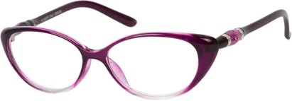 Angle of The Marissa in Purple Fade, Women's and Men's