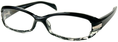 Angle of The Lois in Black and Clear, Women's and Men's