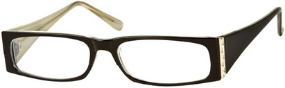Angle of The Sharon in Black/Grey Frame, Women's and Men's