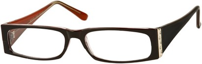 Angle of The Sharon in Black/Red Frame, Women's and Men's