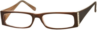 Angle of The Sharon in Brown/Tan Frame, Women's and Men's