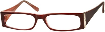 Angle of The Sharon in Red/Pink Frame, Women's and Men's