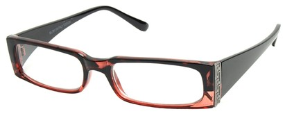 Angle of The Sharon in Red Frame, Women's and Men's