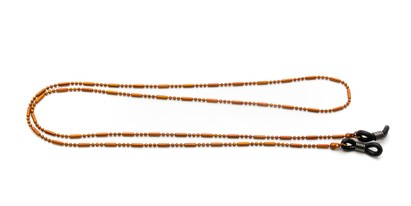 Angle of Orleans Reading Glasses Chain in Orange, Women's  Neck Chains