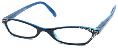 Angle of The Jenna in Black and Blue, Women's and Men's