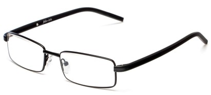 Angle of Pennington by felix + iris in Black, Women's and Men's Rectangle Reading Glasses