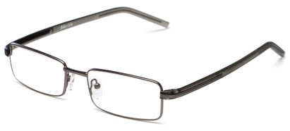 Angle of Pennington by felix + iris in Grey, Women's and Men's Rectangle Reading Glasses