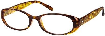 Angle of The Christy in Yellow Tortoise, Women's and Men's
