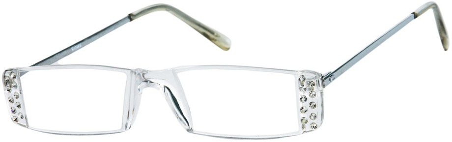 Rimless Glasses With Rhinestones : The Kate Rimless Reading Glasses with Rhinestones