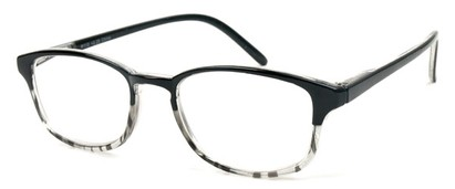 Angle of The Bobby in Black and Clear, Women's and Men's