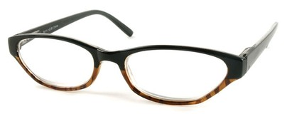 Angle of The Matilda in Black and Brown Tortoise, Women's and Men's