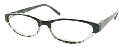 Angle of The Matilda in Black and Clear Tortoise, Women's and Men's