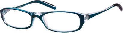 Angle of The Skylar in Blue/Clear, Women's and Men's