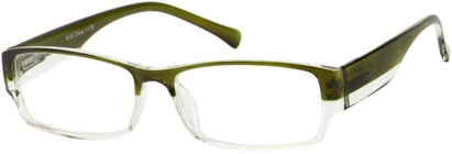 Angle of The Clifford in Green/Clear, Women's and Men's