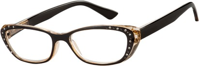 Cat Eye Reading Glasses with Rhinestones