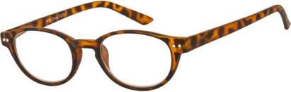 Angle of The Winston in Tortoise, Women's and Men's Round Reading Glasses