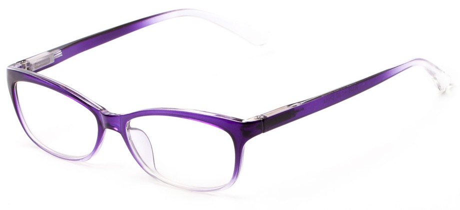 Two Tone Rectangular Eyeglass Frames Readers.com