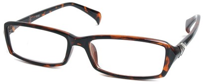 Angle of The Clearlake in Dark Brown Tortoise, Women's and Men's