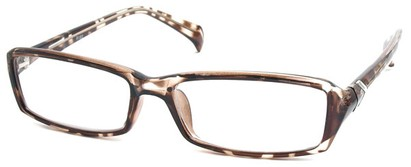 Angle of The Clearlake in Light Brown Tortoise, Women's and Men's