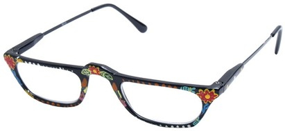 Angle of The Lisa in Fish and Flower Print, Women's and Men's
