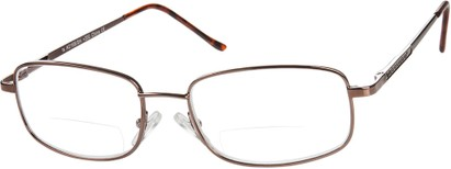 Angle of The Galveston Bifocal in Bronze, Women's and Men's