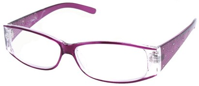 Angle of The Ava in Purple, Women's and Men's