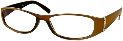 Angle of The Krista in Brown and Tan Fade, Women's and Men's