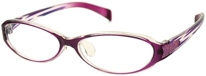 Angle of The Lana in Light Purple Zebra, Women's and Men's