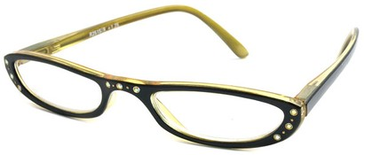 Angle of The Charlotte in Black and Yellow, Women's and Men's