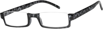 Angle of The Brent in Grey Tortoise, Women's and Men's Rectangle Reading Glasses