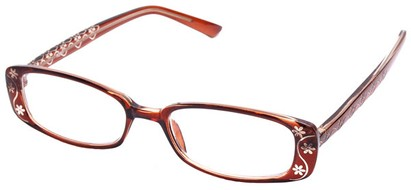 Angle of The Pamela in Dark Brown, Women's and Men's