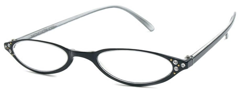 Fixing Half Frame Glasses : Half Frame Rhinestone Reading Glasses