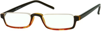 Angle of The Augustine in Black with Red & Yellow Tort, Women's and Men's