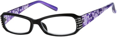 Angle of The Mckensie in Purple/Black, Women's and Men's