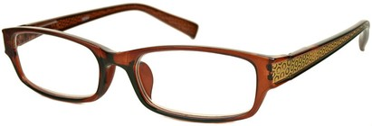 Angle of The Hanover in Brown/Gold Geometric, Women's and Men's