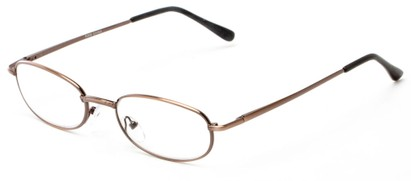 Angle of The Libra in Bronze, Women's and Men's Oval Reading Glasses