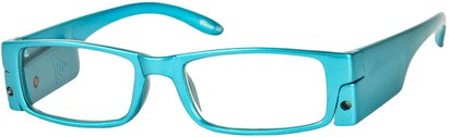 Angle of The Stratford Lighted Reader in Bright Blue, Women's and Men's