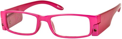 Angle of The Stratford Lighted Reader in Pink, Women's and Men's
