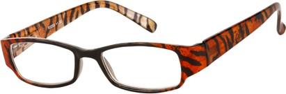 Tiger Print Reading Glasses