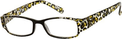 Angle of The Angelica in Black/Clear/Tan Leopard, Women's and Men's