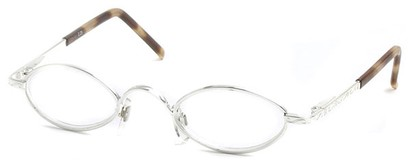 Angle of The Quinn in Silver and Tan Tortoise, Women's and Men's