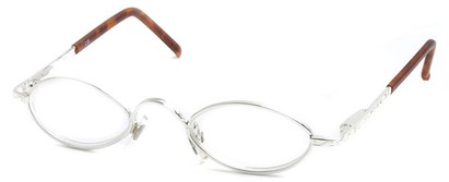 Angle of The Quinn in Silver and Brown Tortoise, Women's and Men's