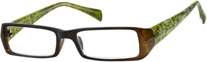 Angle of The Lucille in Brown/Green, Women's and Men's