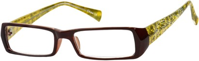 Angle of The Lucille in Brown/Yellow, Women's and Men's