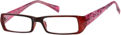 Angle of The Lucille in Red/Pink, Women's and Men's