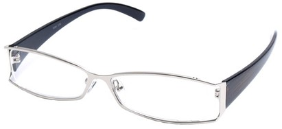 Angle of The South Hampton in Silver with Bronze/Black Temples, Women's and Men's