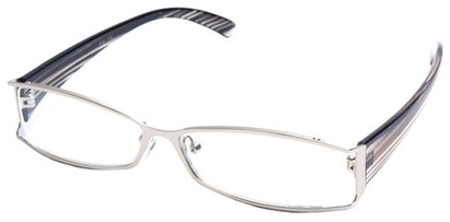Angle of The South Hampton in Silver with Grey Temples, Women's and Men's